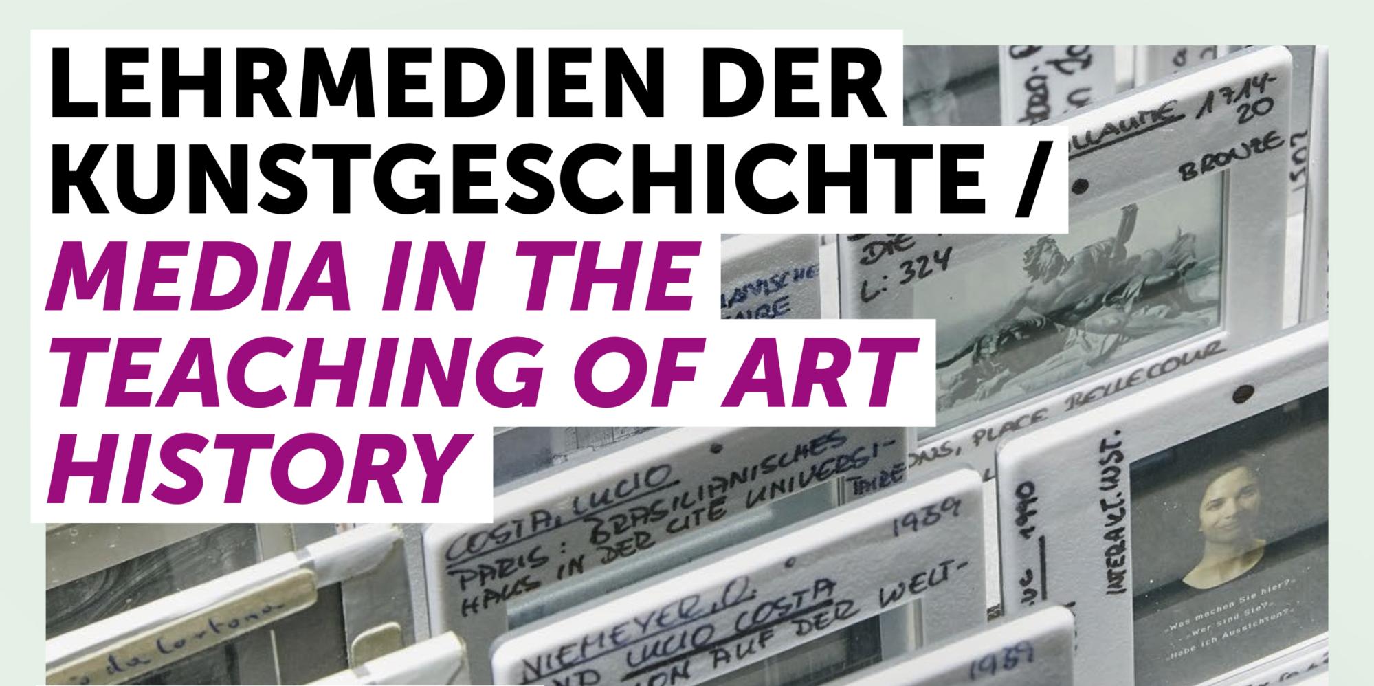 Lehrmedien der Kunstgeschichte
